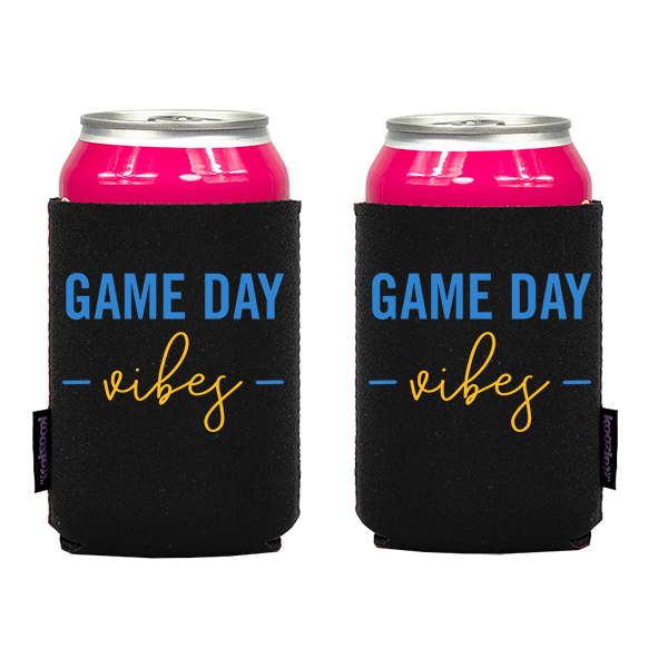 Koozie? Game Day Vibes Neoprene Can Cooler | 2 Sides