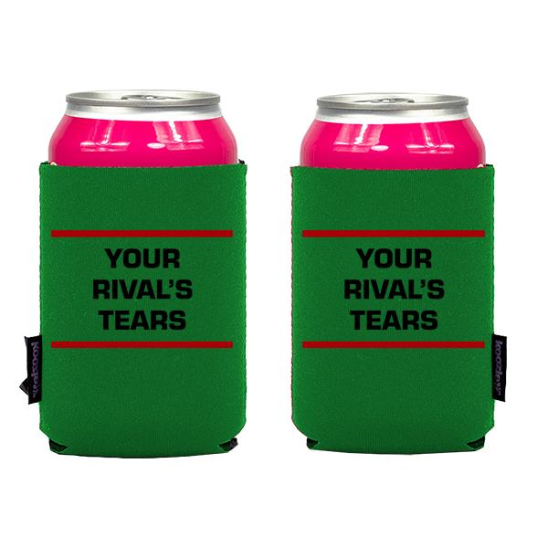 Koozie? Rivals Tears Neoprene Can Cooler | 2 Sides