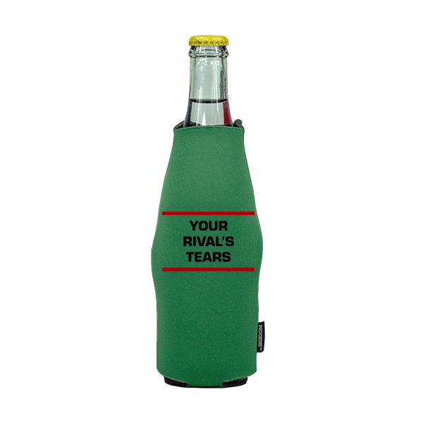 Koozie? Rivals Tears Neoprene Zip-Up Bottle Cooler | 1 Side