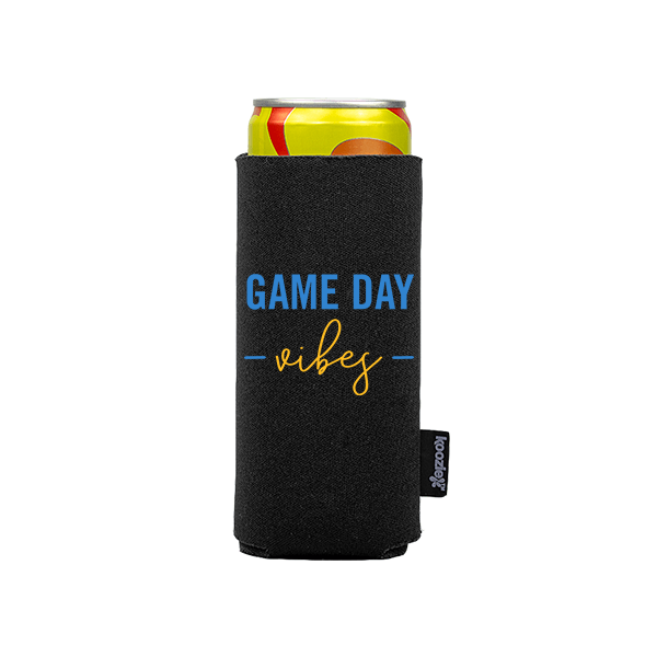 Koozie? Game Day Vibes Slim Can Cooler   1 Side