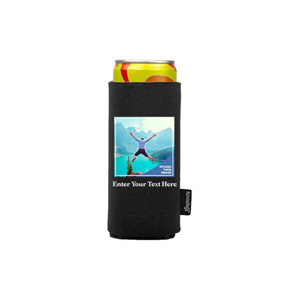 Koozie® Bulk Custom Photo Square Slim Can Cooler | 1 Side