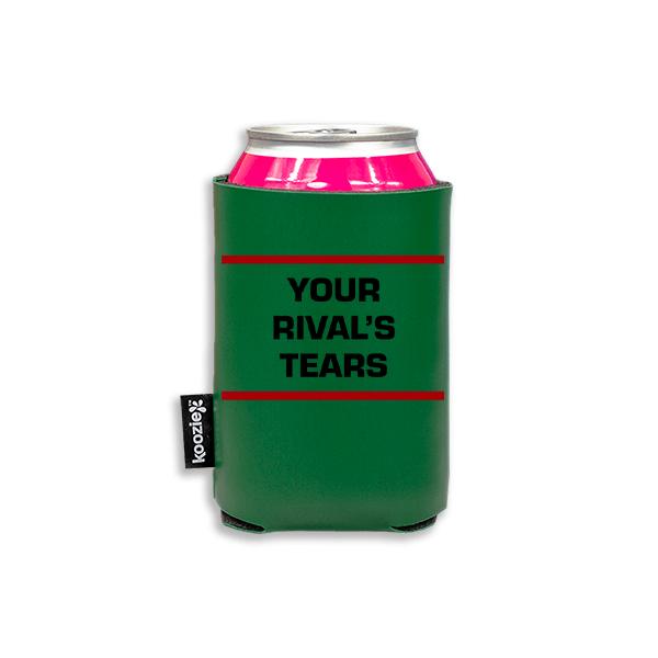 Koozie? Rivals Tears Vegan Leather Can Cooler   1 Side