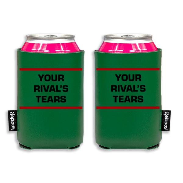 Koozie? Rivals Tears Vegan Leather Can Cooler | 2 Sides